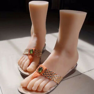 Silicone Foot Female Mannequin Shoes Display Size 3905 A594