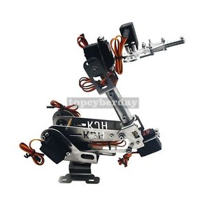 6dof Mechanical Robot Arm Manipulator With Claw Servo For Arduino Assembled