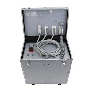 Oiless Air Compressor And Suction System Included Portable Dental Unit 402b