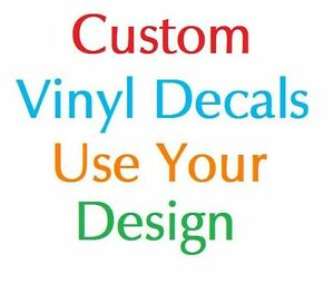 Custom Designed Vinyl Decal Sticker Car Logo Business Wall Art Image