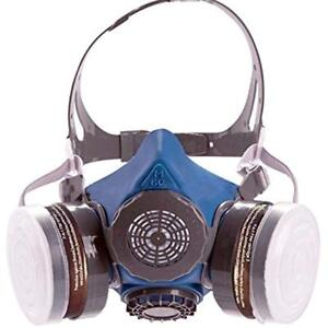 T 60 Safety Masks Respirator Gas With Daul N95 Activated Charcoal Air Filters
