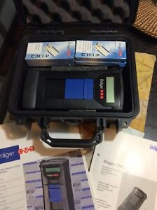 Drager Safety Cms Permissible Gas Analyzer draeger Chip Reader With Case