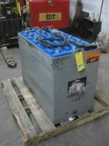 2014 36 Volt Reconditioned Forklift Battery 18 125 17 1000 Amp Hour
