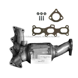 2001 2002 Mazda 626 2 5l Catalytic Converter Firewall Side With Gaskets