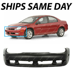 New Primered Front Bumper Cover Fascia For 2000 2001 Dodge Plymouth Neon 00 01
