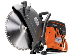 Husqvarna 12 K760 Power Cutter Concrete K Saw Gas Blade Not Included