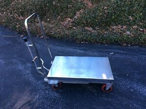 Tf30 Northern Industrial Hydraulic Lift Table Cart Local Pick Up Only