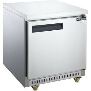 Dukers Duc29r 29 inch Undercounter Refrigerator Commercial Restaurant Equipment