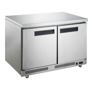 Dukers Duc60f 60 inch Undercounter Freezer Commercial Restaurant Equipment