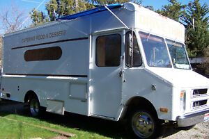 Gmc Mobile Food Truck Catering Concessions Roomy W generator Serving Window Bar
