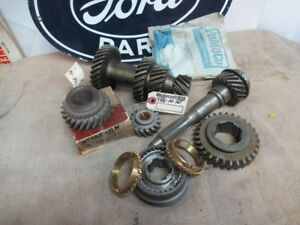 55 56 Ford T86 3 Speed Overdrive Transmission Gear Set New