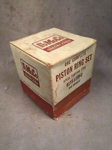1935 1942 Ford 90 Hp Flathead Steel Section Piston Rings 040 01ts 6149 D Nos