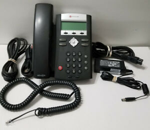 Polycom 2200 12375 001 Soundpoint Ip 335 Hd Corded Voip Phone 2 Line Poe