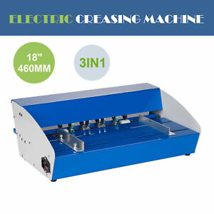 Heavy Duty 460mm Electrical Creasing Machine Electric Paper Creaser