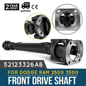 Active Front Prop Drive Shaft For Dodge Ram 2500 Ram 3500 6 7l 52123326ab Each