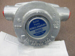 Delavan 8800d Diamond 8 Roller Pump Made In The Usa Upc 830344005009