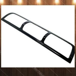 Glossy Black 3rd Brake Light Cover Abs Trim Overlay For 2009 2010 Dodge Ram 4500