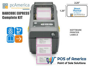 Pcamerica Bce Barcode Express Barcode Printing Package Software Printer Labels