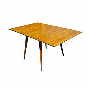 Paul Mccobb Planner Group Drop Leaf Dining Table Of Solid Maple