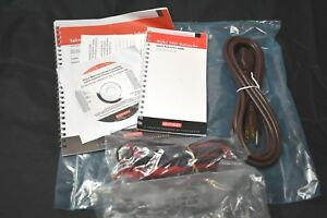 Keithley Series 2000 Multimeter Leads Power Cord Owners Manuals Cd Bundle New