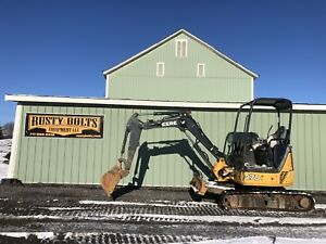 2014 John Deere 27d Mini Excavator 1745 Hours Aux Hyd Low Cost Shipping