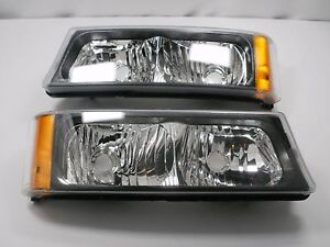 Parking Signal Lights 2003 2006 Chevy Silverado Avalanche