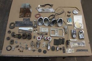 1958 1959 1960 Corvette Restoration Parts Lot Grab Bag