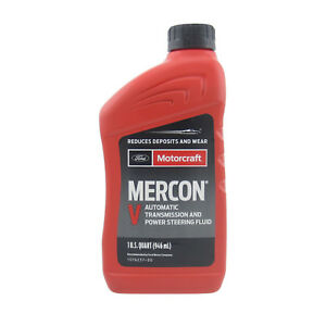 1 Qt Ford Motorcraft Mercon V Xt5qmc Atf Automatic Transmission Fluid