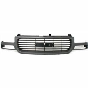 Grille Assembly For 2001 2002 Gmc Sierra 2500 Hd Sierra 1500 Hd