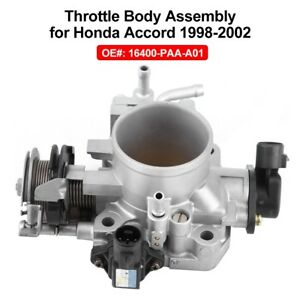 For Honda Accord 1998 2002 2 3l 3 0l Fuel Injection Throttle Body 16400 Paa A01