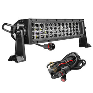 480w 12inch Led Work Light Bar Spot Flood Driving 4row Truck Suv Boat 14 15 Fog