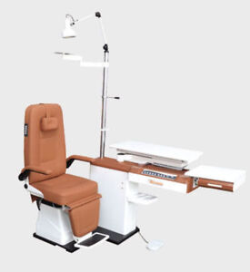 Refraction Ophthalmic Chair Unit Optometry Equipment Healthcare Lab