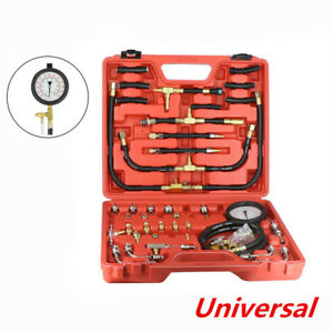140psi Fuel Injection Pump Injector Tester Kit Test Pressure Gauge Case 10 Bar