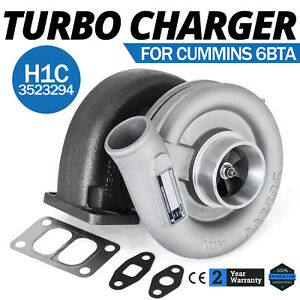 Hot H1c Diesel Turbo Charger For Dodge Ram Cumnnins 6bta 3523294 Bolt On Fast