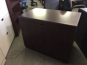 2 Drawer Lateral Size File Cabinet By Ofs W Lock Key