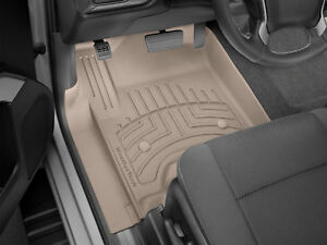 Weathertech 3d Floor Mats For Gm Trucks 2014 2018 Hd 2019 1st Row Set Tan