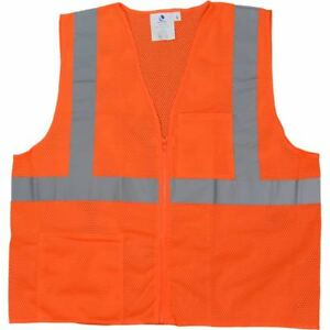 High Visibility Safety Vest Class 2 X large 2x large 12 36 Pieces