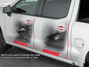 Weathertech Scratchprotection For Chevy Silverado Gmc Sierra 14 18 Double Cab