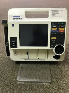 Lifepak 12 Biphasic 3 lead Aed W 50mm Printer