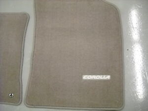 2009 2013 Toyota Corolla Carpet Floor Mats Brown Oem Toyota Pt206 02103 45
