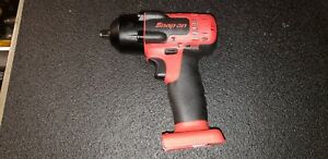 New Snap On 18v Lithium Cordless Impact Wrench Ct8810b 3 8 Drive Tool Only