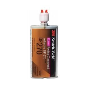 3m Dp270 Scotch weld Epoxy Potting Compound Clear 200 Ml 6 7 Fl Oz Black
