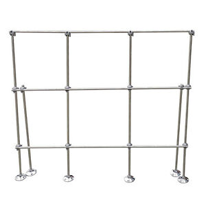 Hfs r 4ft Table Top Aluminum Lattice Lab Stand Kits