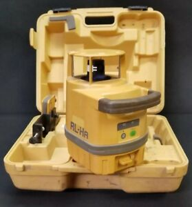 Topcon Rl ha Laser Level With Ls 50b Receiver Clamp 16