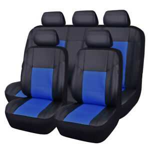 Car Pass Auto Car Seat Cover Breathable Pu Leather Universal Fit Car truck suv