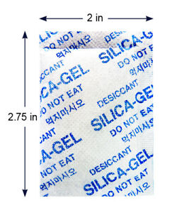 5 Gram 1000 Pack dry Dry Silica Gel Desiccant Packets Rechargeable Cloth