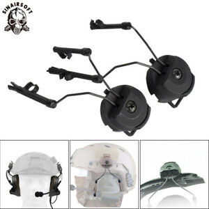 Tactical Military Headset ARC Rail Adapter for FAST ACH  MICH  Sordin Helmet