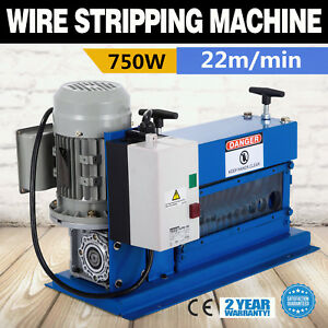 Portable Powered Electric Wire Stripping Machine Copper Wire 60hz Cable Stripper