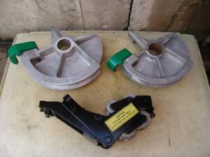 Greenlee 1 1 2 And 2 Inch Imc Bending Shoes And Roller Support For 555 Bender