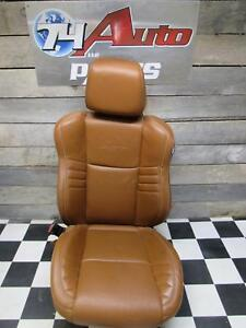 Dodge Charger Srt Hellcat Drivers Seat Brown Leather